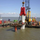 Offshore pile driving PTC