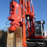Piling Rigs Vibratory hammers with variable moment technology PTC