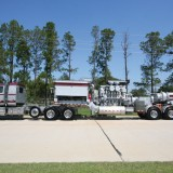 S&S Trailer Mounted Frac Unit